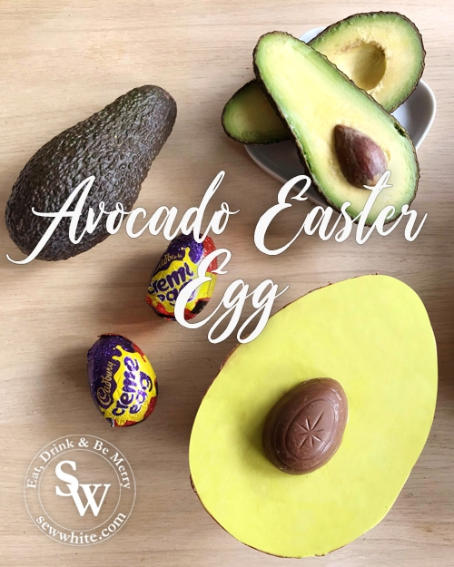 Avocado Easter Egg